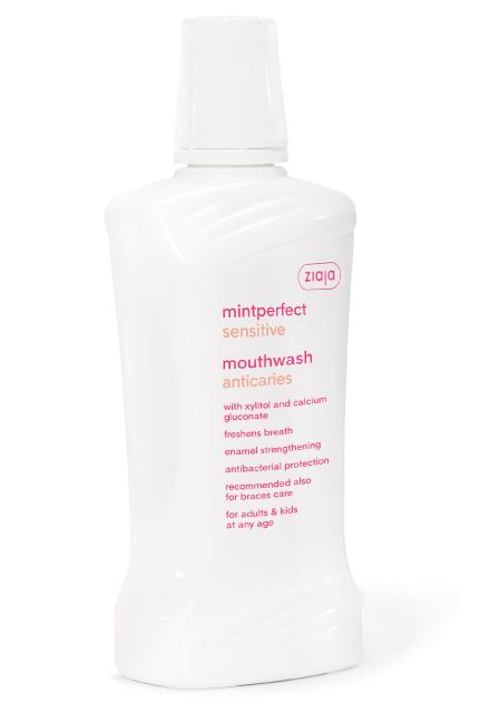 sensitive fogszuvasodás elleni szájvíz